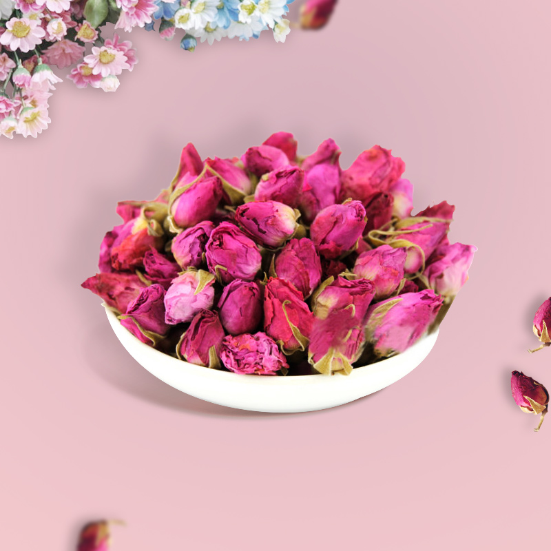 Chinese organic flowering Natural Dried Rose bud Rose <strong>tea</strong>