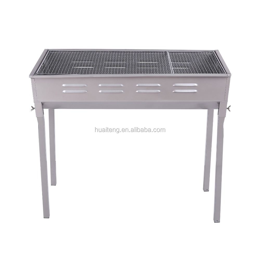 Portable Folding Charcoal BBQ Grill, indoor charcoal bbq grill factory