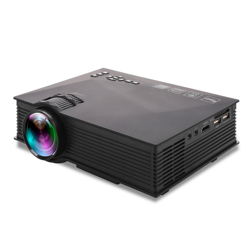 Excel Digital mini LCD home projector screen led projector UC46 UC46+