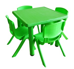kids cheap price plastic table and chair sets for kindergarten