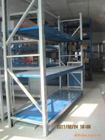 China gold supplier metal warehouse shelves heavy storage rack 1000kg from Factory
