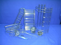 Basket of Stainless Steel Wire