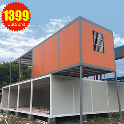 Fast Assembly detachable house, Modern design shipping containers 40 feet,Prefabricated container house