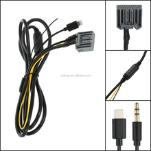 Aux Connection Line Input Cable Audio Adapter Car Digital CD Changer