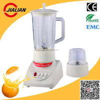Jialian Cheap Price BT2P 2 in 1 PC/PS Jar 2 Speeds with Pulse ABS Body Plastic Electric Mixer Grinder Blender