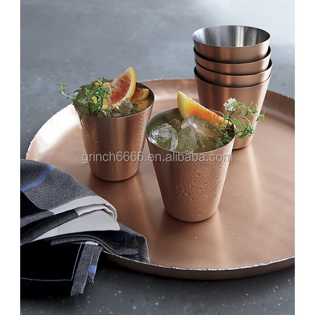 stainless steel Wine and Cocktail Glasses cup mug