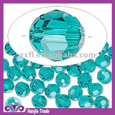 price of rock crystal stone Blue Zircon loose rondelle