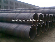 DIN EN API 5L SSAW/HSAW High Strength Spiral Welded Steel Pipe/Tube for Oil and Gas