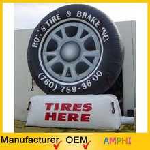 Super sale inflatable tire advertising,inflatable Model,inflatable advertising display