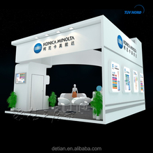 Wood design watch jewelery display mall kiosk booth with led