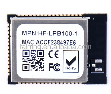 Low power embedded serial port WIFI module wireless module HF-LPB100-1 wireless module board antenna