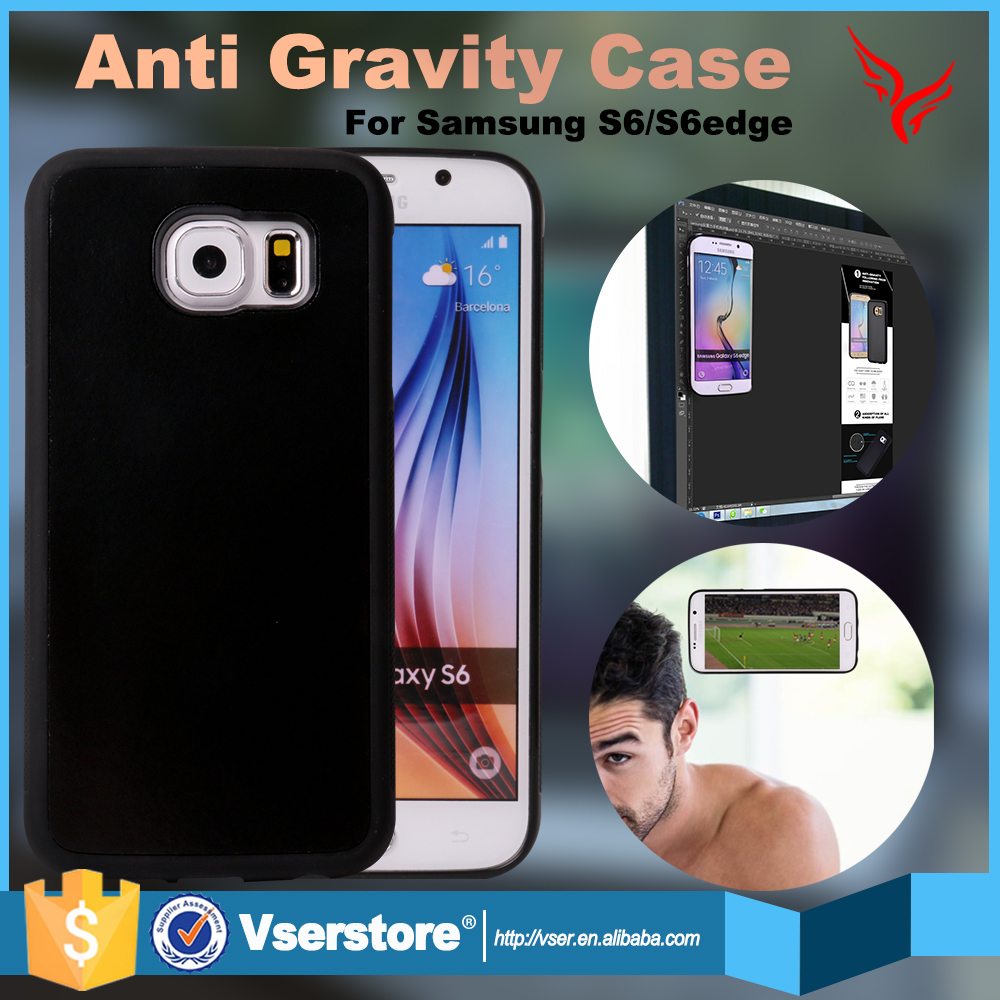 Nano suction technology new arrival anti gravity case for samsung galaxy s5