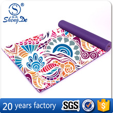 2016 New Fashion Popular Anti-slip PVC Yoga Mat