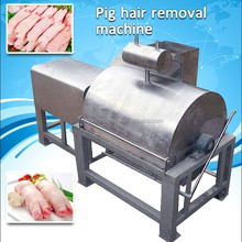 stainless steel pig trotter dehairing hair removal machine