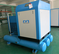Intergrated screw type air compressor for repair station
