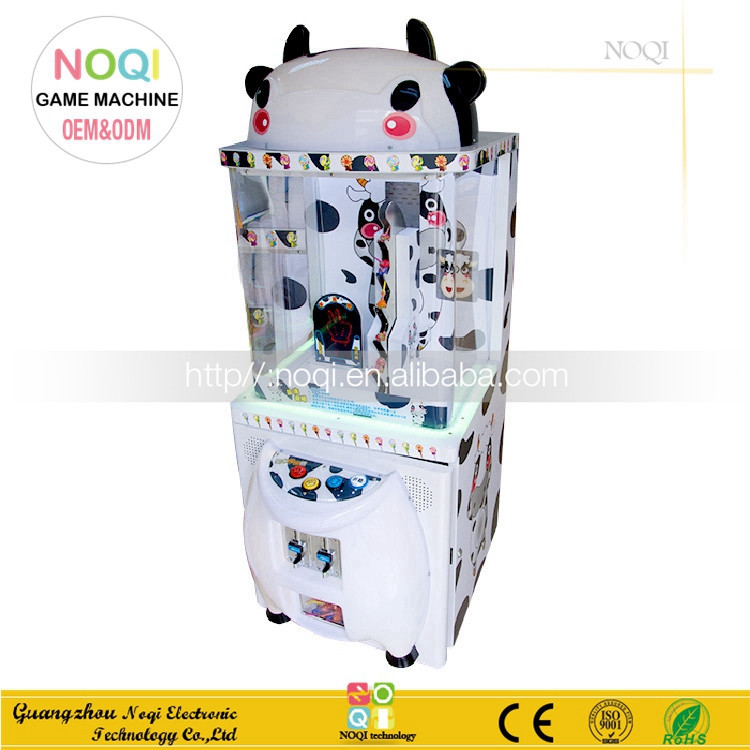 NQP-002 arcade game machine kids play games catch candy lottery redemption game machine
