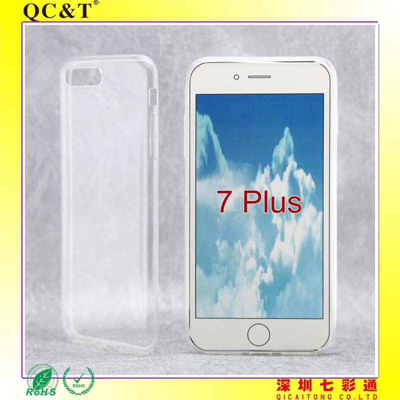 For 7 plus accessories phones normal tpu high transparent gel case