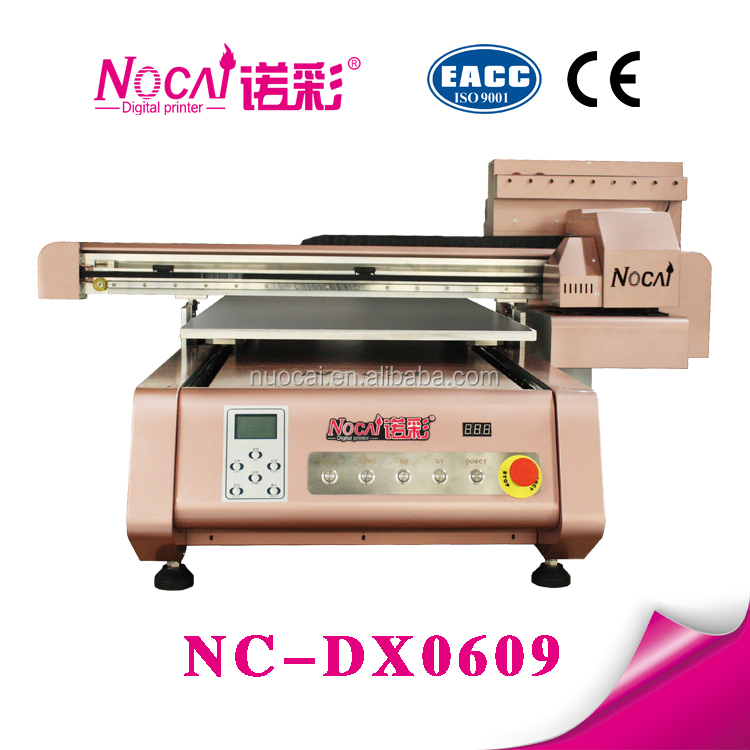 Guangzhou Small Format 7 color digital uv led flatbed silicone phone case printing machine