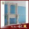 Cheap Popular Insert Marble Double Fireplace