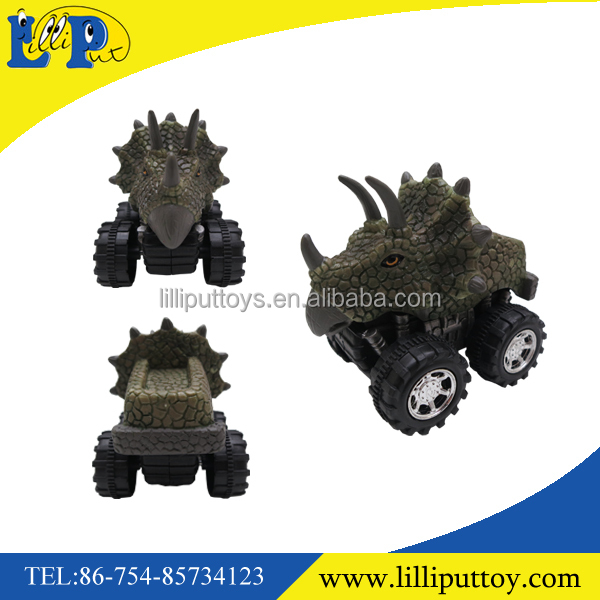 Dinosaur friction car toy T-rex high quality painting promotion item