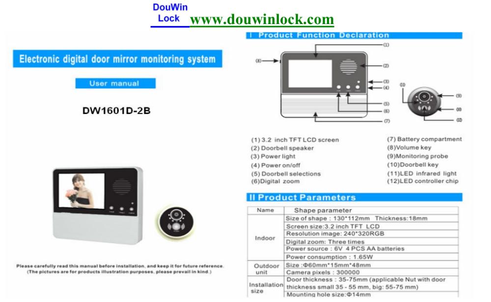 120 grad berwachungskamera digital t rspion viewer t rspione produkt id 60276294792 german. Black Bedroom Furniture Sets. Home Design Ideas