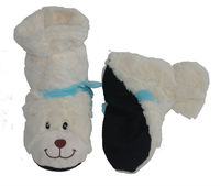 microwaveable plush boots