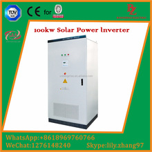MW power plant solar panels system 50kw-415VAC pure sine wave inverter