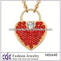 2014 CDE Wholesale perfume pendant necklace