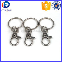 Promotional Small Lobster Detachable Swivel Clasps keyring
