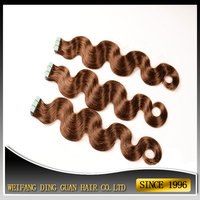 Invisible Skin Weft Body Wave Wavy Tape Hair Extensions