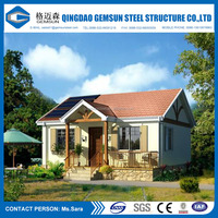 Light Gauge Steel Material Villa,House,Office Use Prefabricated Villa
