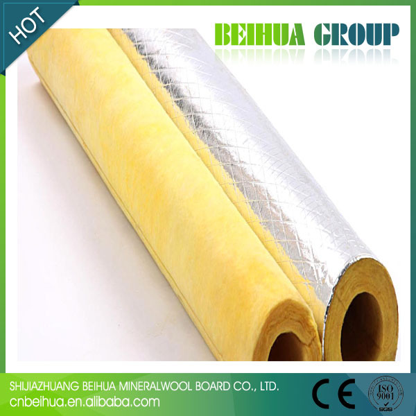 Fiberglass steam pipe insulation material view steam pipe for Fiberglass insulation sizes