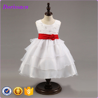 Summer Dresses For Girls Little Girls Part Dresses Pageant Ball Gowns For Children Fancy Flower Dress Kids Clothing C-91