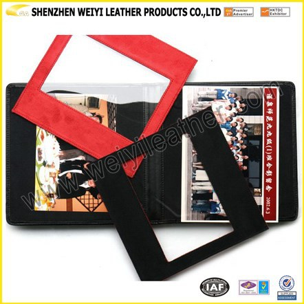 Good Quality OEM Fashion Popular Colorful Charming Personal Soft Leather pvc Sheet For Photo Album
