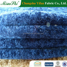 hot wolesale100% polyester plain knitting velour fabric for home textile,beding, sofa