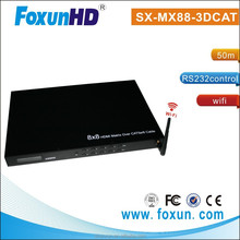 Shunxun 8x8 HDMI Video Smart TV Matrix Over 50m Cat5e/6 With WIFI
