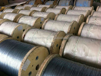 7*1.0mm Galvanized Steel Wire Strand for Optical Fiber Cable