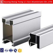 Aluminum profile sliding mirror wardrobe doors