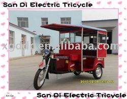 Battery Charged Tricycle