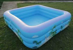 Square Kids Plastic Swimming Pool Buy Kids Plastic