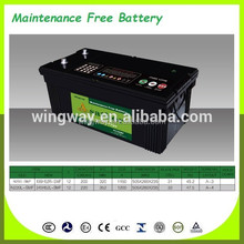 2016 brand wholesale cheap price Maintenance Free car battery /bus battery car battery factory