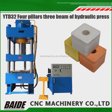 YTD32 hydraulic press machine for cookware Four columns hyaraulic press machine for car mats/Sheet metal pressing /bending/stamp
