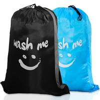 Large Laundry Bag Machine Washable Sturdy Rip-Stop Nylon Material with Drawstring Closure