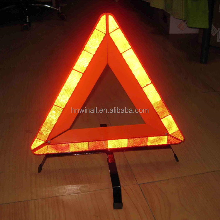 Road Signs car truck safety reflective warning triangle kit sign