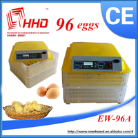 CE approved mini incubator for sale 96 chicken eggs available