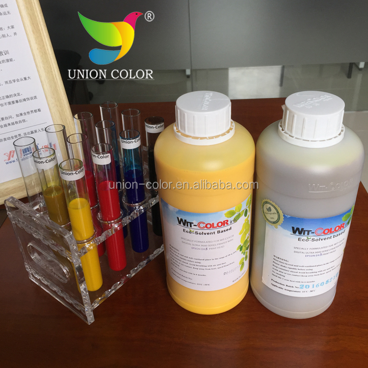 original wit-color dx5 eco solvent ink