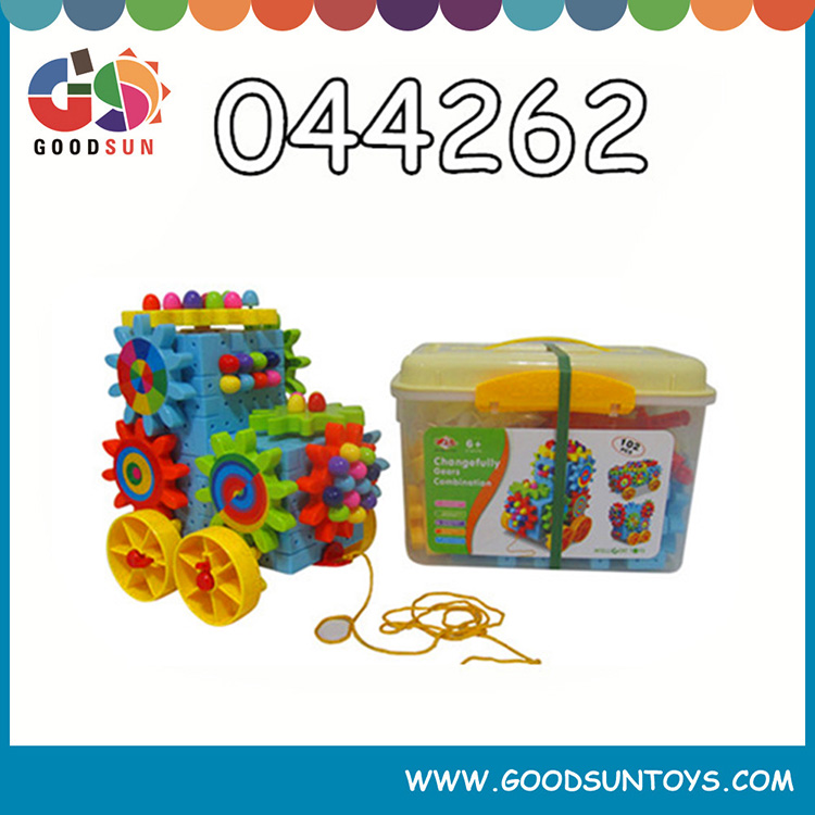 plastic connecting building blocks for kids, toy brick,educational toy set