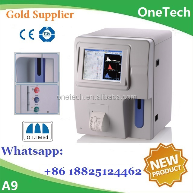 Veterinary hematology analyzer Full automatic / Vet hematology / Animal blood test analyzer price A9