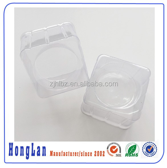 clear plastic blister process type container plastic cake packing tray