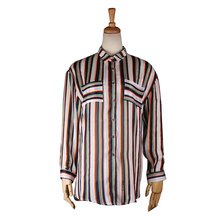 Latest Design Clothes Stripe Long-Sleeved Large Size Shirt Women Fashion Outwear